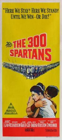 The 300 Spartans - 13 x 30 Movie Poster - Australian Style A