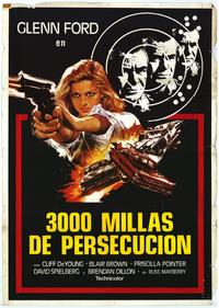 The 3000 Mile Chase - 27 x 40 Movie Poster - Spanish Style A