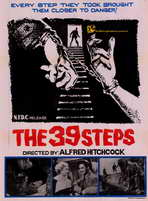 The 39 Steps - 11 x 17 Movie Poster - Style C