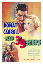 The 39 Steps - 27 x 40 Movie Poster - Style A
