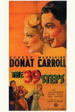 The 39 Steps - 27 x 40 Movie Poster - Style B