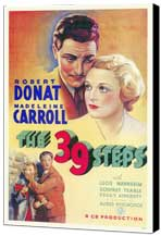 The 39 Steps - 11 x 17 Museum Wrapped Canvas