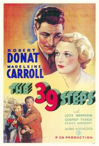 The 39 Steps - 11 x 17 Movie Poster - Style A