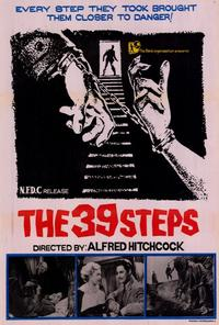 The 39 Steps - 27 x 40 Movie Poster - Style C