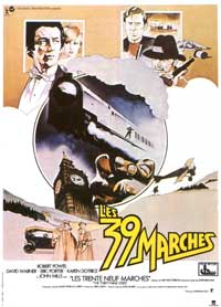 The 39 Steps - 11 x 17 Movie Poster - French Style A