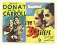 The 39 Steps - 11 x 17 Movie Poster - UK Style A