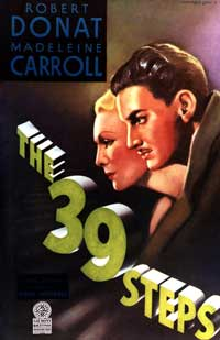 The 39 Steps - 11 x 17 Movie Poster - Style H