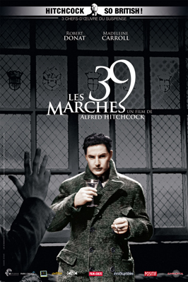 The 39 Steps - 11 x 17 Movie Poster - French Style C