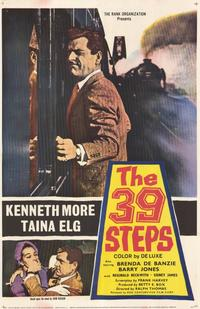 The 39 Steps - 11 x 17 Movie Poster - Style B