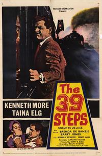 The 39 Steps - 43 x 62 Movie Poster - Bus Shelter Style A