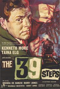 The 39 Steps - 43 x 62 Movie Poster - Bus Shelter Style B