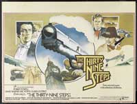 The Thirty-Nine Steps - 30 x 40 Movie Poster UK - Style A