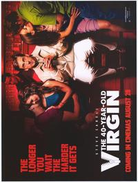 The 40 Year Old Virgin - 43 x 62 Movie Poster - Bus Shelter Style B