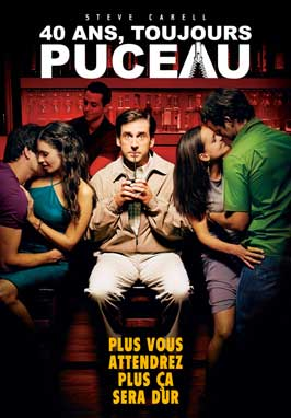 The 40 Year Old Virgin - 11 x 17 Movie Poster - French Style A