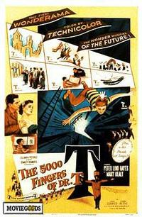 The 5000 Fingers of Dr. T - 43 x 62 Movie Poster - Bus Shelter Style A