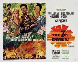 The 7th Dawn - 22 x 28 Movie Poster - Half Sheet Style B