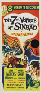 The 7th Voyage of Sinbad - 13 x 30 Movie Poster - Australian Style A