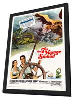 The 7th Voyage of Sinbad - 11 x 17 Movie Poster - Style A - in Deluxe Wood Frame