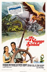 The 7th Voyage of Sinbad - 11 x 17 Movie Poster - Style A