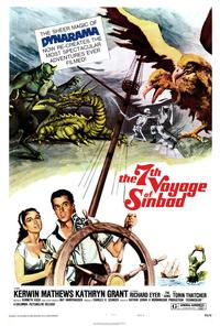 The 7th Voyage of Sinbad - 43 x 62 Movie Poster - Bus Shelter Style A