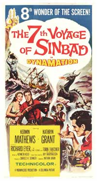 The 7th Voyage of Sinbad - 20 x 40 Movie Poster - Style A