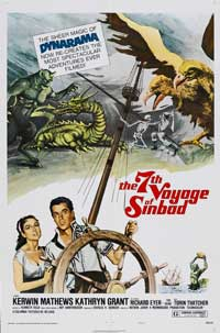 The 7th Voyage of Sinbad - 27 x 40 Movie Poster - Style B