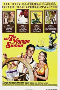 The 7th Voyage of Sinbad - 11 x 17 Movie Poster - Style C