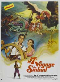 The 7th Voyage of Sinbad - 27 x 40 Movie Poster - French Style A