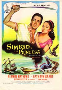 The 7th Voyage of Sinbad - 11 x 17 Movie Poster - Spanish Style B