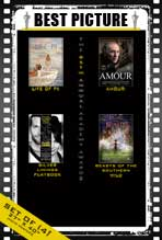 The 85th Annual Academy Awards - 27 x 40 Movie Posters - Best Picture Poster Pack: (4)
