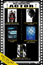 The 85th Annual Academy Awards - 27 x 40 Movie Posters - Best Supporting Actor Poster Pack: (5)