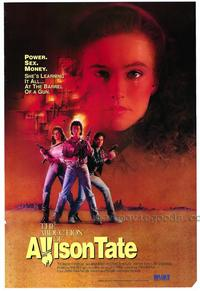 The Abduction of Allison Tate - 27 x 40 Movie Poster - Style A