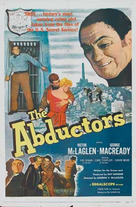 The Abductors - 11 x 17 Movie Poster - Style B