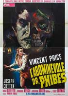 The Abominable Dr. Phibes - 11 x 17 Movie Poster - Italian Style A