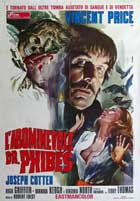 The Abominable Dr. Phibes - 11 x 17 Movie Poster - Italian Style B