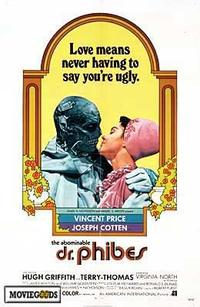 The Abominable Dr. Phibes - 43 x 62 Movie Poster - Bus Shelter Style A