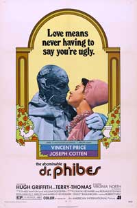 The Abominable Dr. Phibes - 27 x 40 Movie Poster - Style C
