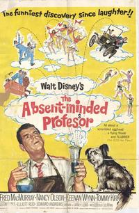 The Absent-Minded Professor - 11 x 17 Movie Poster - Style B
