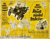 The Absent-Minded Professor - 22 x 28 Movie Poster - Half Sheet Style A