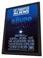 The Abyss - 27 x 40 Movie Poster - Style B - in Deluxe Wood Frame