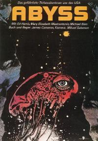 The Abyss - 27 x 40 Movie Poster - German Style A