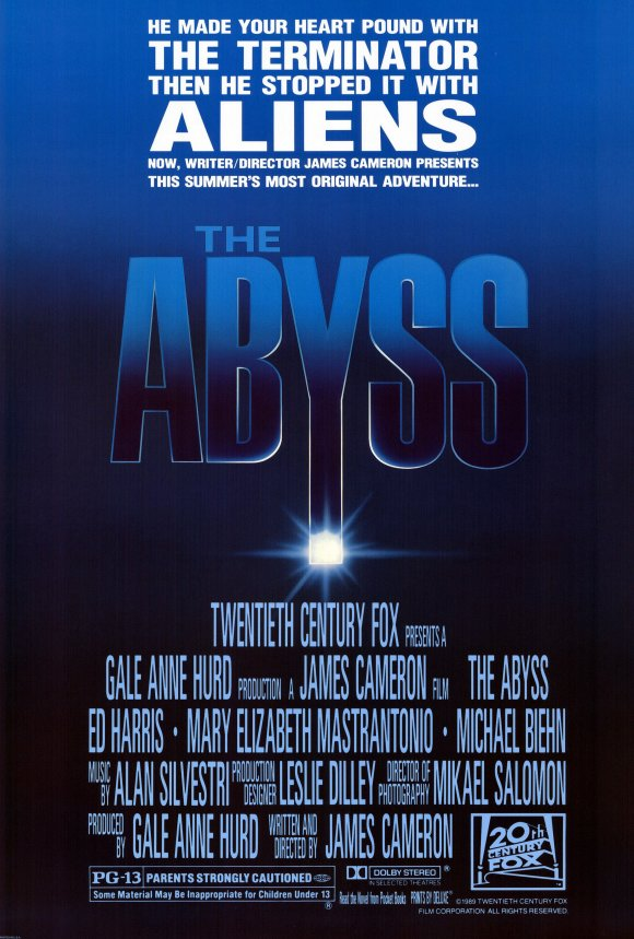 The Abyss Movie Posters From Movie Poster Shop