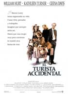 The Accidental Tourist - 43 x 62 Movie Poster - Spanish Style A