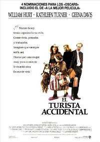 The Accidental Tourist - 11 x 17 Movie Poster - Spanish Style A