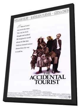 The Accidental Tourist - 11 x 17 Movie Poster - Style A - in Deluxe Wood Frame