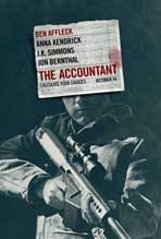 """The Accountant"" Movie Poster"