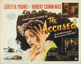 The Accused - 27 x 40 Movie Poster - Style A