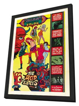 Acid Eaters, The - 27 x 40 Movie Poster - Style A - in Deluxe Wood Frame