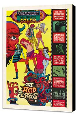 Acid Eaters, The - 27 x 40 Movie Poster - Style A - Museum Wrapped Canvas