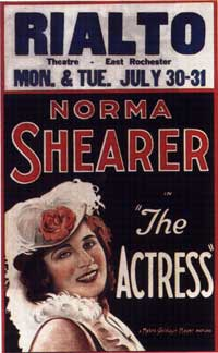 The Actress - 11 x 17 Movie Poster - Style A